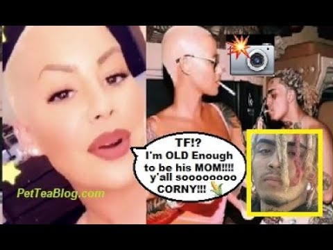 Amber Rose Denies Dating 17 Year Old Lil Pump & He Responds PETTY 👀