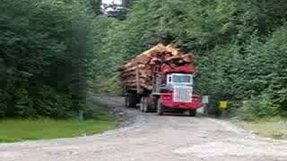 MACK CL-350 LOGGING TRUCK