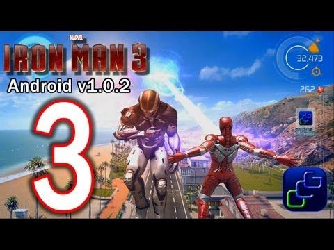 IRON MAN 3: The Official Game Android Walkthrough - Part 3 - Defeat Ezekiel Stane