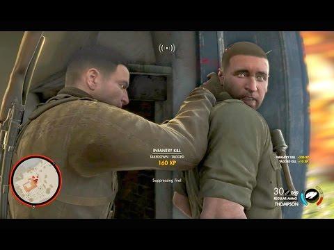 Sly Gameplay - Sniper Elite 4 Brutal Sniping & Combat Compilation Vol. 1