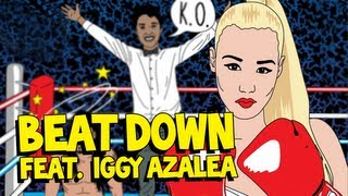 Download Beat Down (ft. Iggy Azalea) - Steve Aoki & Angger Dimas AUDIO MP3 song and Music Video