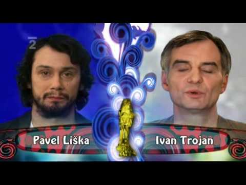 Pavel Liška a Ivan Trojan - Český lev 2008