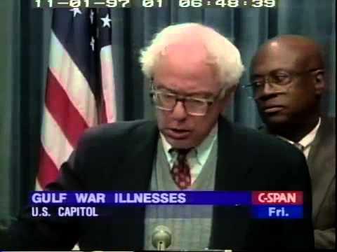 Bernie Sanders: Persian Gulf War Illness Investigation (10/31/1997)