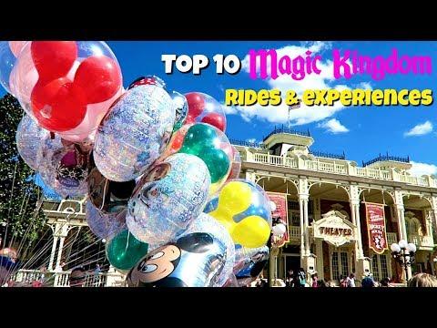 TOP 10 Magic Kingdom rides and experiences | Walt Disney World 2017