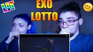I watch EXO 엑소 'Lotto' MV for the first time (Reacti…