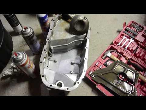 Saab Oil Pan Removal & Gasket Reseal Saab 9-3 9-5 9000