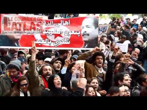 40ème jour de deuil de Chokri Belaïd