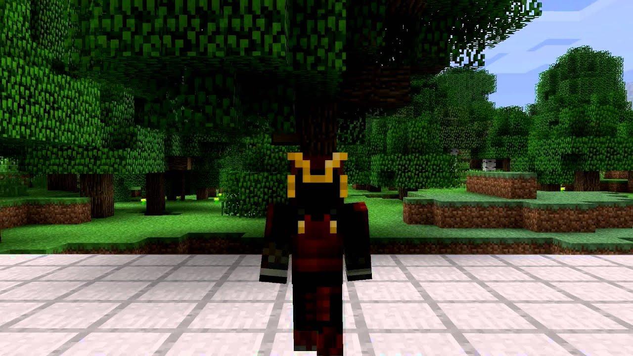 Samurai Minecraft Skin Spotlight - YouTube