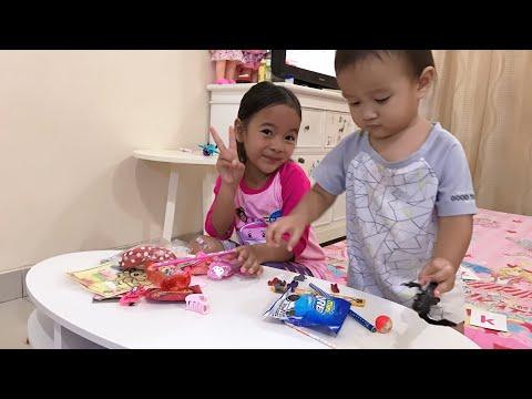 Bahagianya Zara dan Kenzo buka Fanmail dari Jawa Tengah | Isinya ada 30 macam
