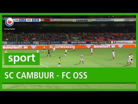 VOETBAL: Samenvatting SC Cambuur - FC Oss