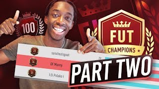 I GOT TOP 100 ON FUT CHAMPS PART TWO!!! - MANNY'S MONEY TEAM #6