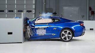 2016 Chevrolet Camaro Driver-Side Small Overlap Iihs Crash Test