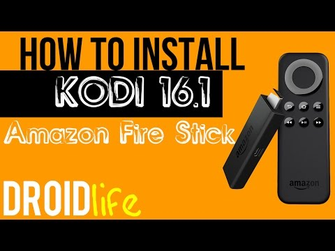 How to install Kodi 16.1 Jarvis to your Amazon Fire Stick without a computer!