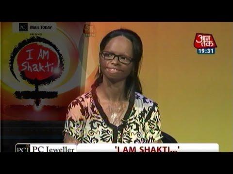 I am Shakti: Acid attack survivor Laxmi, Kiran Bedi