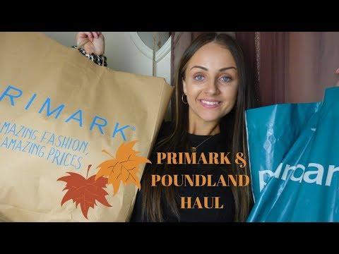 PRIMARK & POUNDLAND HAUL | AUTUMN