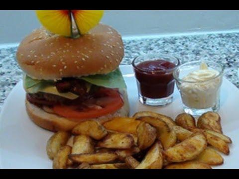 Youtube Ricetta Hamburger.Hamburger American Style Fatto In Casa Videoricetta Youtube