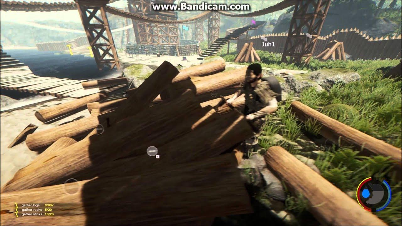 The Forest Glitch Unendlich Baumstamme Version 033 Multiplayer