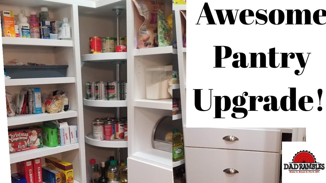 Diy Kitchen Pantry Remodel Project