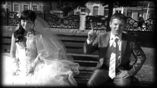 Свадьба. Черно-белое кино..