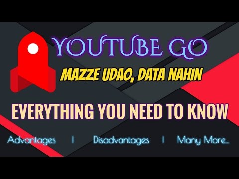 Youtube GO // Everything U Need TO Know // Advantages/Disadvantages/Download Link // | HINDI |