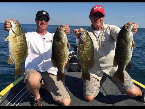 Summer Smallmouth Fishing On Lake St. Clair