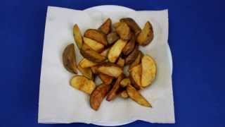 Рецепт приготовления картофеля по-деревенски во фритюрнице VITEK VT-1538 B