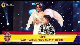 """Giọng ải giọng ai   tập 8: Cao Thái Sơn gục ngã với giọng hát của cô gái """"thiên thần"""""""