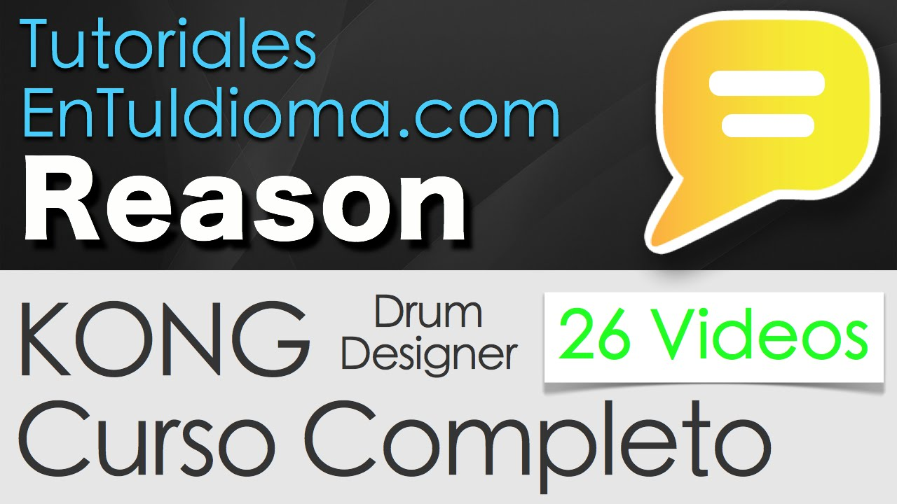 01 introduccion kong drum designer tutorial reason kong en espa ol youtube. Black Bedroom Furniture Sets. Home Design Ideas