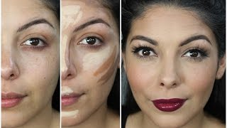 EASY GLAM Makeup Transformation - Full Face / Full Contour