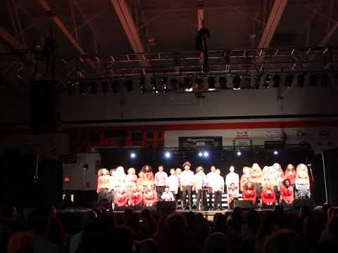 Musselman Middle School Spectrum Show Choir 2018-2019