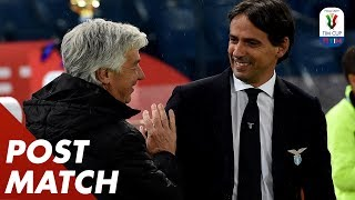 Atalanta 0-2 Lazio | Gasperini & Inzaghi Post Match Press Conference | TIM Cup 18/19