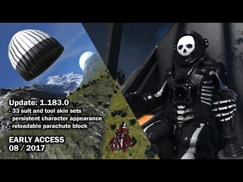 Space Engineers - Update 1.183.0 - Skins, Parachutes & Player Feedback