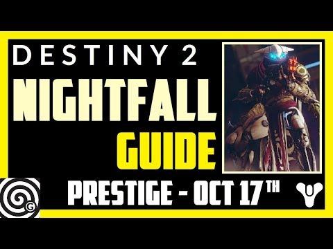 Destiny 2 - Prestige Nightfall Guide: Exodus Crash (Week 7, Oct 17th)