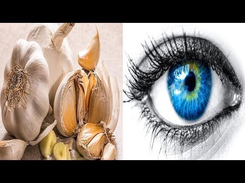How To Use Pressed Garlic To Reverse Eyesight Loss Without Glasses or Surgery!