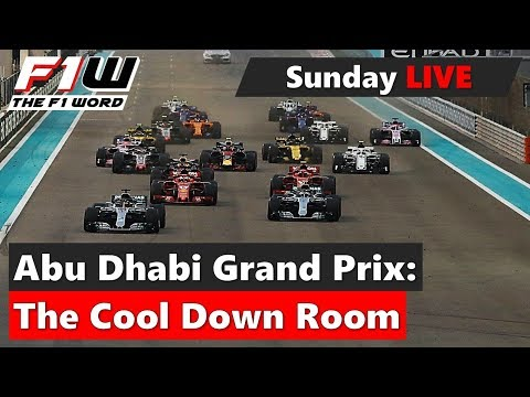 Abu Dhabi Grand Prix: The Cool Down Room