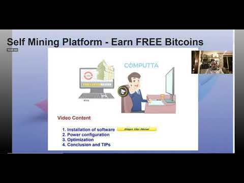 COMPUTTA Update - FREE Bitcoins With Self Mining Software