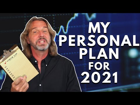 My Personal Plan for 2021