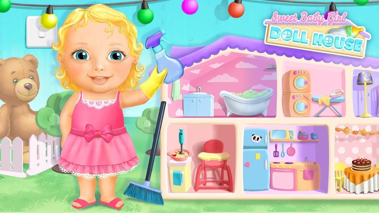 sweet baby girl house