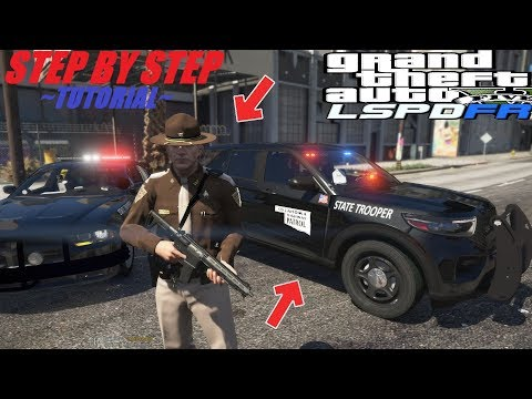 {GTA 5 Police Mods} How To Easily Install LSPDFR 0.4.6 - STEP BY STEP