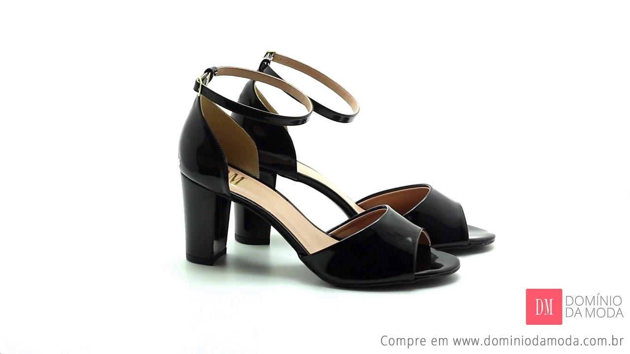 eea2bb483 Sandália Damannu Shoes Scarlett Candy Verniz – AmoMuito – Comparador de  preços para produtos de moda e beleza