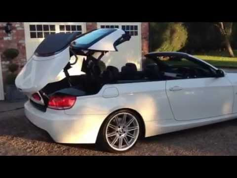 BMW 330D M SPORT AUTO CONVERTIBLE 2008 FOR SALE ALPINE WHITE