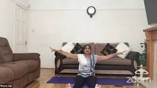 14-10-2020 - Hatha Yoga With Bhavnaben Jogi
