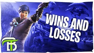 WINS AND LOSSES (Fortnite Battle Royale)