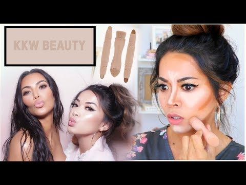 I was invited to Kim Kardashian's House! (not click bait) + KKW Beauty Contour & Highlight Review