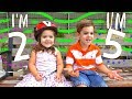 Interview with a 2 Year Old and 5 Year Old