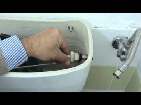 Meccanismo Di Scarico Cassette Wc Monoblocco In Ceramica.Come Sostituire Il Galleggiante Di Una Cassetta Di Scarico Youtube