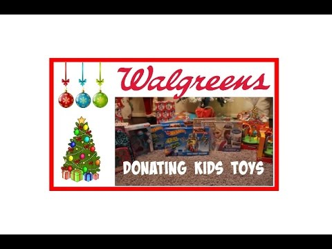 Walgreens Haul   Toys For Donations & Filling You In On...