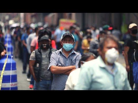 Мексика впервые преодолела 1 000 000 по числу зараженных COVID-19