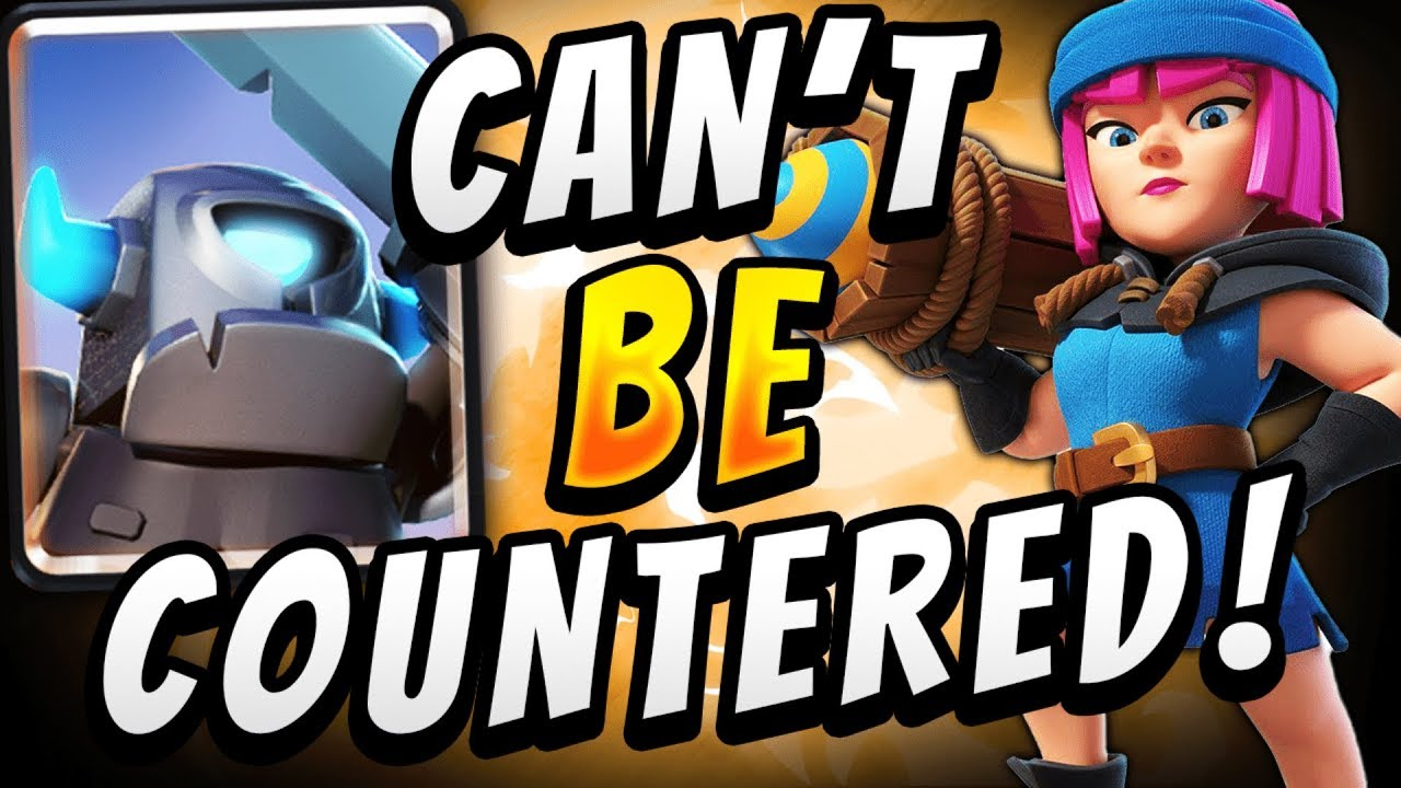 INSANE! MINI PEKKA ROCKET CYCLE CAN'T BE COUNTERED! — Clash Royale