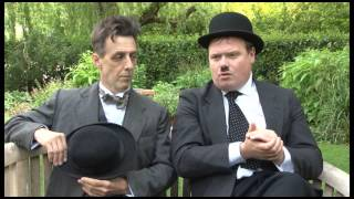 Laurel & Hardy at The Watermill Theatre, Newbury, UK
